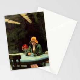 AUTOMAT - EDWARD HOPPER Stationery Cards