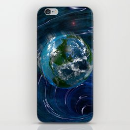 Earth Is In Trouble iPhone Skin
