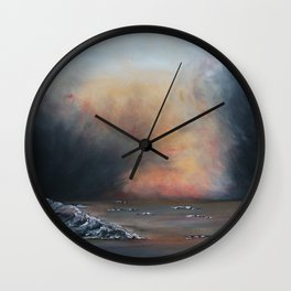 Iceland-GerlindeStreit Wall Clock