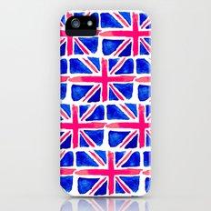Watercolour Union Jack  iPhone (5, 5s) Slim Case