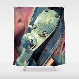 Fil-o-matic Gas Pump Shower Curtain