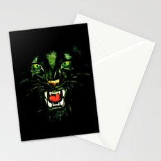 Fierce and Powerful Black Panther Stationery Cards