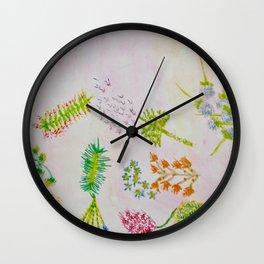 venus greens Wall Clock