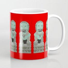 Lion Statues Coffee Mug