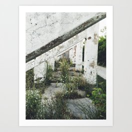Pillars Path Art Print