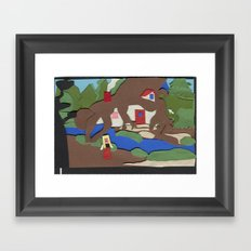 King's Quest IV: The Perils of Rosella Framed Art Print