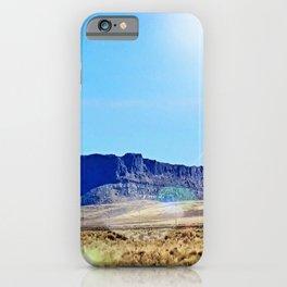 Nevada Plateau iPhone Case