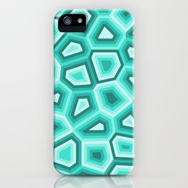 Hypnose turquoise iPhone Case