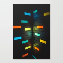 Light Bricks Canvas Print