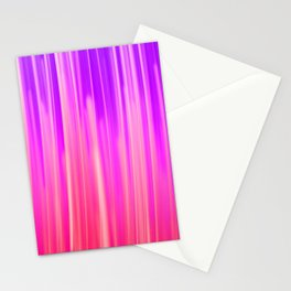 Abstract pink violet white watercolor brushstrokes Stationery Cards