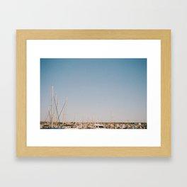 Harbour Peak Framed Art Print