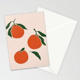 Vintage oranges illustration Stationery Cards