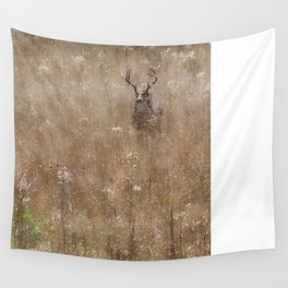 Autumn - Buck in Tennessee Wall Tapestry