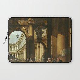 Bernardo Bellotto - Self-portrait as Venetian ambassador Laptop Sleeve