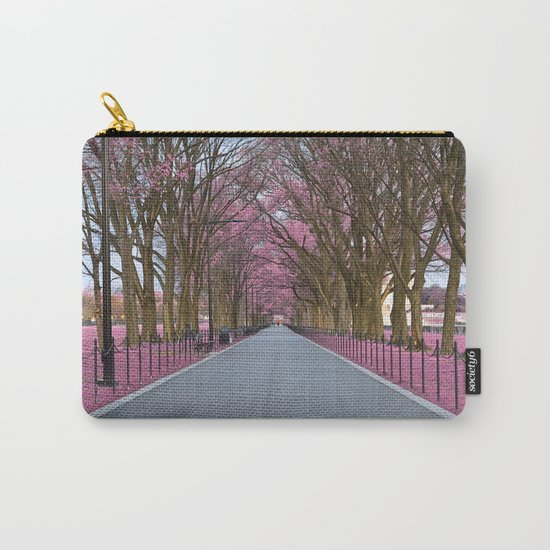 Pink Mall Promenade Carry-All Pouch