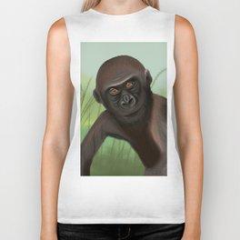 Gorilla in the Jungle Biker Tank