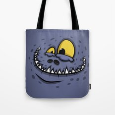 TEETH MONSTER Tote Bag
