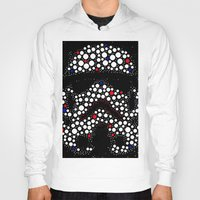 stormtrooper Hoodies featuring Stormtrooper by Saundra Myles