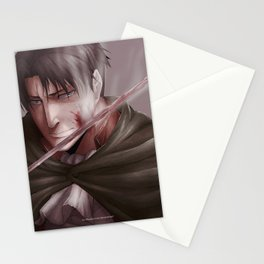 Shingeki no Kyojin - Levi Stationery Cards