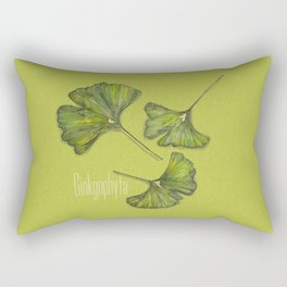 ginkgophyta Rectangular Pillow