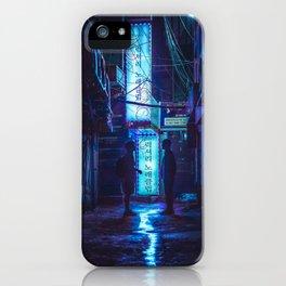 Midnight Meeting iPhone Case