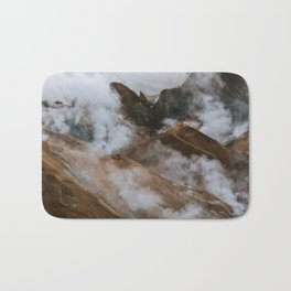 Kerlingjarfjöll smoky Mountains in Iceland - Landscape Photography Bath Mat
