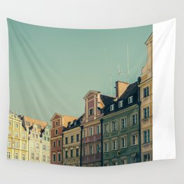 Wroclaw City Center Wall Tapestry