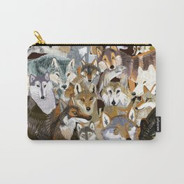Wolves o´clock ( Time to Wolf ) Carry-All Pouch