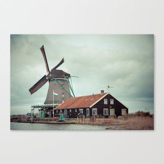 Mill away Canvas Print