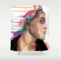 sister Shower Curtains featuring Sister by Siriusreno