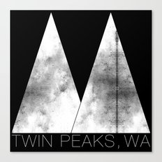 Twin Peaks, WA (White Lodge) Canvas Print