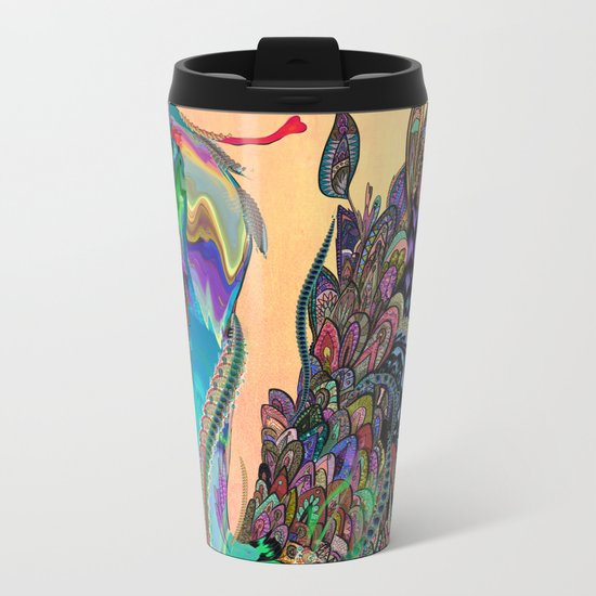Ambrosia Metal Travel Mug