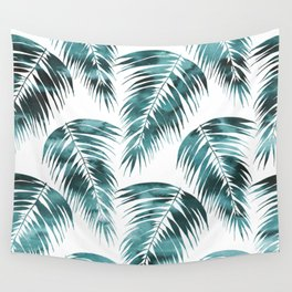 Maui Palm Leaf 2 green Wall Tapestry