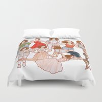 dirty dancing Duvet Covers featuring Dirty Dancing - New version by Naineuh