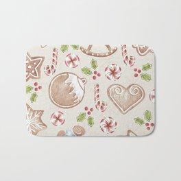 Gingerbread Bath Mat