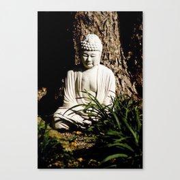 Buddah Zen Meditative Earthy Art Print Canvas Print
