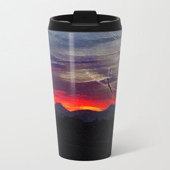 Darkness Ascending Metal Travel Mug