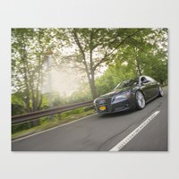 audi Canvas Prints featuring AfterFX Customs Audi A8 by Alexandre1983 Photography