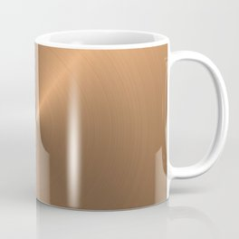 Circular metal brushed texture Coffee Mug