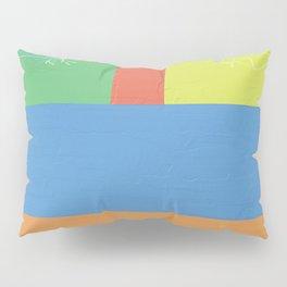 birds in color blocks Pillow Sham