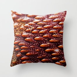 Spanner Crab Back Texture Throw Pillow