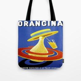 Vintage poster - Orangina Tote Bag