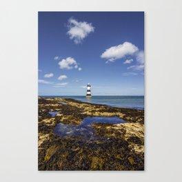 Trwyn Du Lighthouse Canvas Print