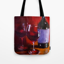Full Bodied Red Tote Bag