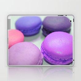 macaroons pink purple peach Laptop & iPad Skin
