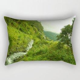 Beauty of Banos Rectangular Pillow