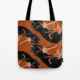 Black dingo (c) 2017 Tote Bag