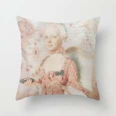 Marie Antoinette 7up Throw Pillow