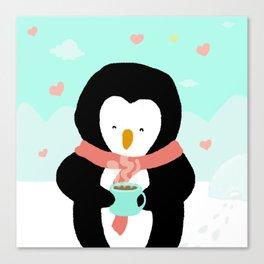 Lovely Penguin Canvas Print