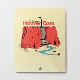 The Hoover Dam Metal Print